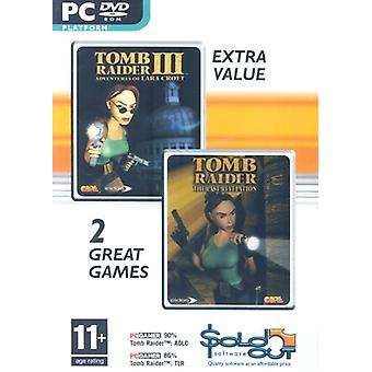 Tomb Raider III letzte Offenbarung Doppelpack (PC-DVD)