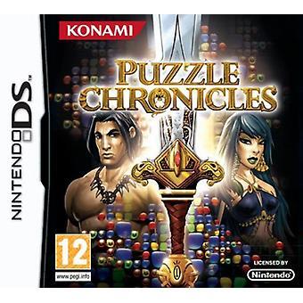 Puzzel Chronicles (Nintendo DS)