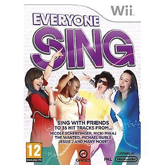 Everyone Sing (Nintendo Wii)