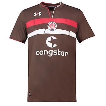 2018-2019 St Pauli Home Football Shirt