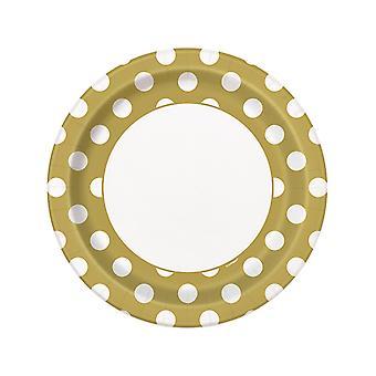 Gold Dot plater 9â€