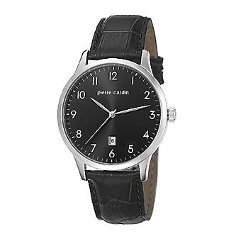 Pierre Cardin mens watch bracelet watch HENRI MARTIN leather PC106671F01