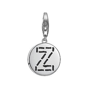 ESPRIT pendant of charms silver letter fabric Z ESCH91147A000