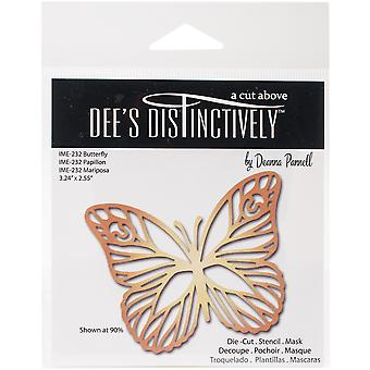 Dee's Distinctively Dies-Butterfly 1