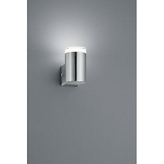 Trio Lighting Aracati Modern Nickel Matt Metal Wall Lamp