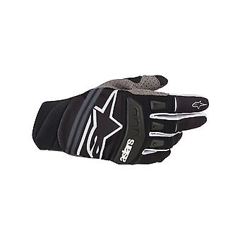 Alpinestars Black-White 2019 Techstar MX Gloves