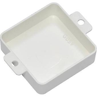 Kemo G059W Universal enclosure 40 x 40 x 13 Thermoplastic White 1 pc(s)