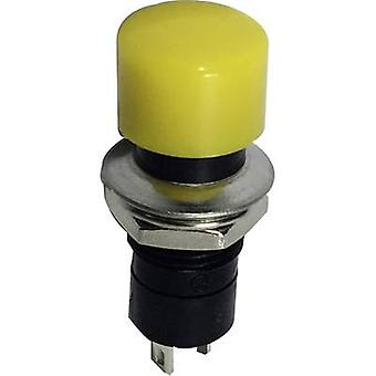 SCI R13-40A-05YL Pushbutton 250 V AC 1.5 A 1 x Off/(On) momentary 1 pc(s)