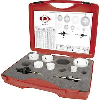 RUKO 126302 Hole saw set 8-piece cobalt 1 Set