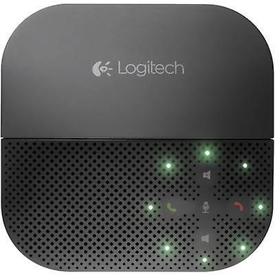 Conference room loudspeaker USB, bleutooth Logitech Mobile Speakerphone P710e noir