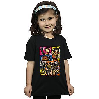 Star Wars T-Shirt für Mädchen Rebellen Comic-Strip