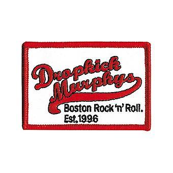 Dropkick Murphys Boston R N' R Iron-On / Sew-On Cloth Patch