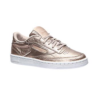 Reebok leather sneaker Club C 85 melted metals gold