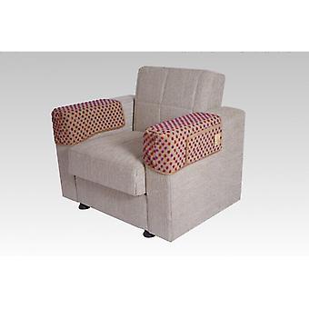 Armrest saver seat saver BEIGE pair 40 x 55 cm 2 pockets