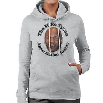 Mike Tyson Appreciation Society Women's Hooded Sweatshirt