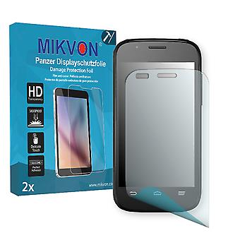 ZTE Blade Q Mini Screen Protector - Mikvon Armor Screen Protector (Retail Package with accessories)