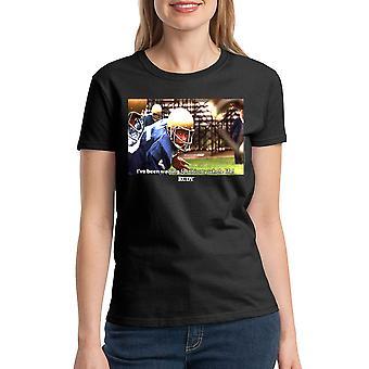 Rudy Waiting Women's Black T-shirt