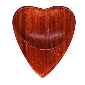 Heart Tones Padauk Single Plectrum