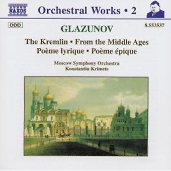 Glazunov: The Kremlin From the Middle Ages etc.