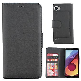Bolsa de la carpeta de LG Colorfone Q6 (negro)