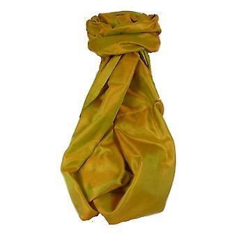 Varanasi Silk Long Scarf Heritage Range Jana 4 guld av Pashmina & Silk