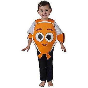 Costume from Finding Nemo dory and Nemo original clown fish child costume