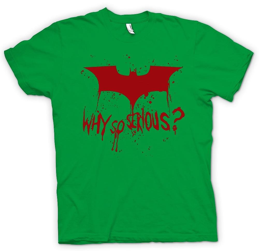 Mens T-shirt - Batman Logo - Why So Serious