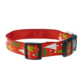 Dog Leash with Christmas Theme-Christmas tree-Large