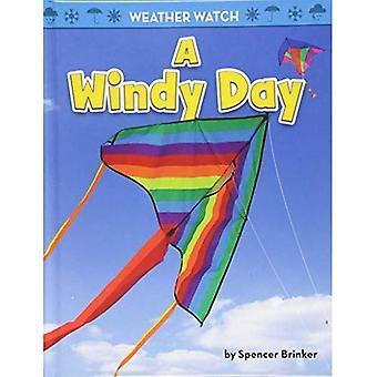 Een winderige dag