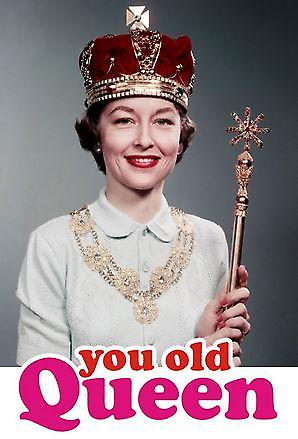 You Old Queen steel fridge magnet (dm pt)