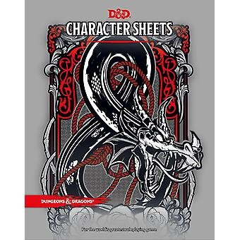 Dungeons Dragons RPG Character Sheets &-5th. Edition
