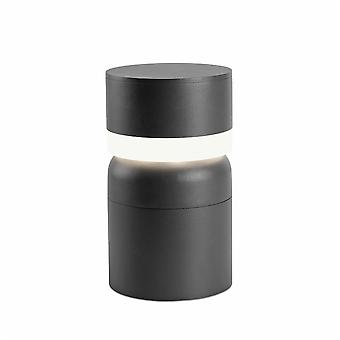 Faro - Sete Dark Grey LED Outdoor Pedestal FARO75521