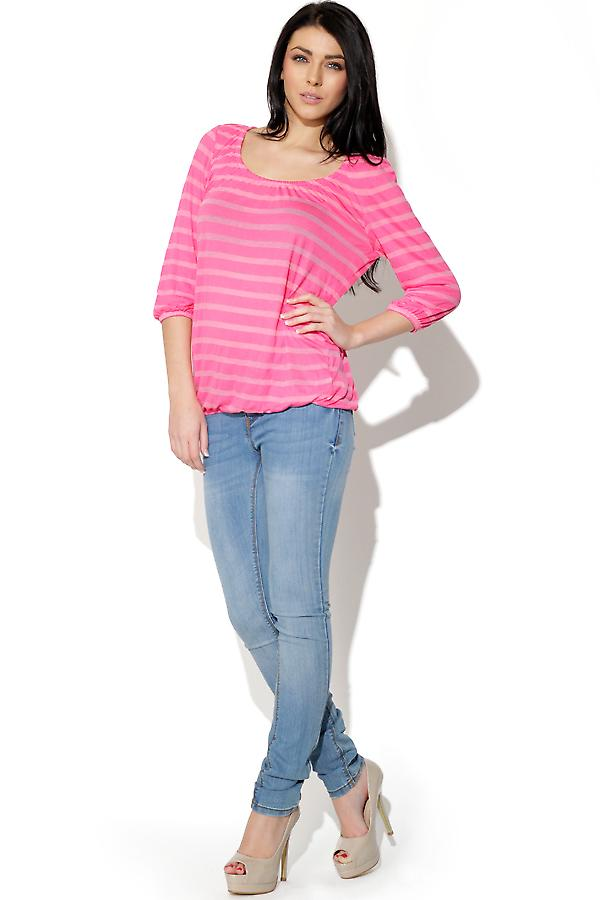 Alleen pure Stripe Top