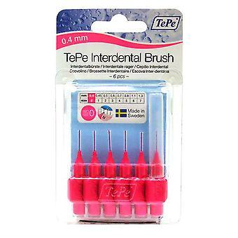 Tepe interdental børste 0,4 pink 6