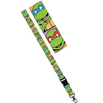 Teenage Mutant Ninja Turtles Green Lanyard