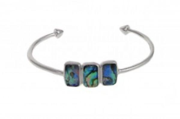 Cavendish French Delicate Abalone Cuff Bangle