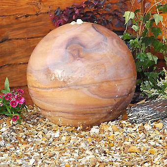 Deco Pak Eastern Drilled Natural Stone Water Feature - 30cm