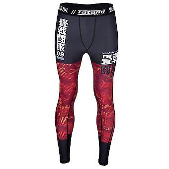 Tatami Fightwear Essential Camo Spats Black/Red
