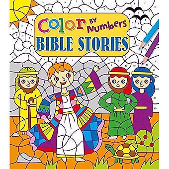 Färg med siffror: bibel historier