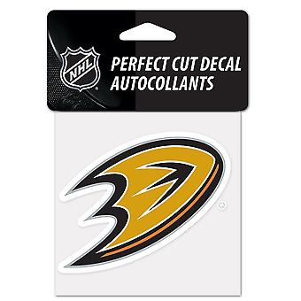 Wincraft Aufkleber 10x10cm - NHL Anaheim Ducks