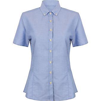 Henbury - Women's Ladies Modern Short Sleeve Oxford Shirt