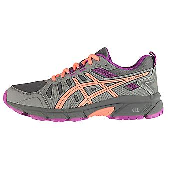 Asics Kids Venture 7 Trainers Sports Shoes Sneakers Low Top Lace Up
