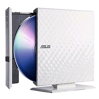 Asus sdrw-08d2s-u lite white external cd/dvd burner usb interface white color