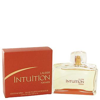 INTUITION by Estee Lauder Eau De Toilette Spray 3.4 oz / 100 ml (Men)