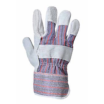 Portwest - Canadian Rigger Leather-Cotton Glove (1 Pair Pack)