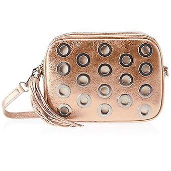 Chicca Bags 1617 Women's shoulder bag Rosa 22x16x7 cm (W x H x L)