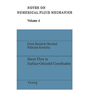 Flux de cisaillement en surfaceOrienté coordonnées par Hirschel et Ernst Heinrich