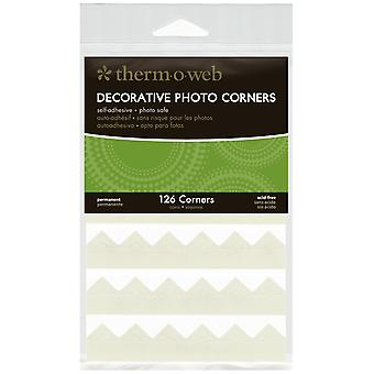 Decorative Photo Corners 126 Pkg Ivory Pcs126 3869