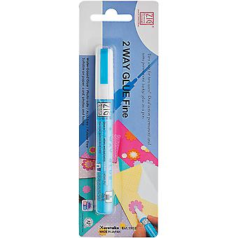 Zig 2 Way Glue Pen Packaged Fine Tip Msb20m1p