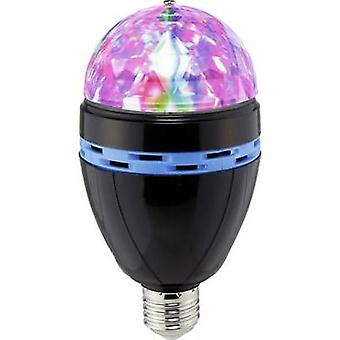 LED Party light Renkforce E27 PARTYLAMP 1 W Multi-colour No. of bulbs: 3
